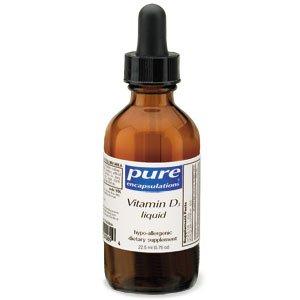 Pure Encapsulations - Vitamine D3 liquides -
