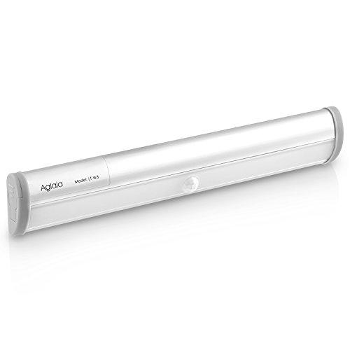 Aglaia-Lmpara-LED-del-Armario-10-LEDs-Barra-de-Luz-Inalmbrica-con-Sensor-de-Movimiento-Blanco-Fro-y-Operada-por-4-AAA-Bateras-para-Gabinete-Aparador