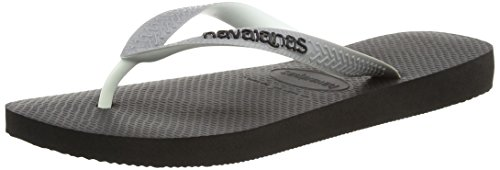Havaianas Black/Steel Grey Top Mix Flip Flops - 43/44 EU (41/42 BR)