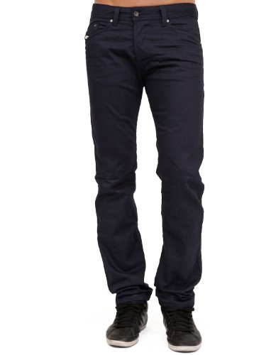 Diesel Darron 8qu Between Straight And Slim Blue Man Jeans Men - W28
