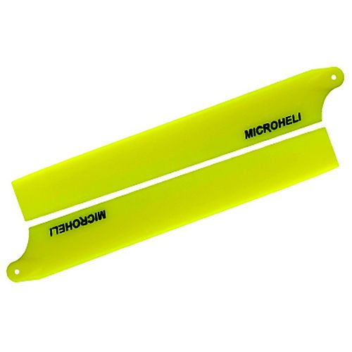 Plastic Main Blade 135mm, Yellow: Blade 130 X