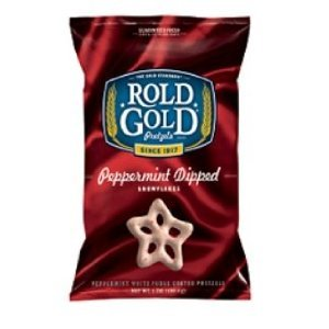 Rold Gold White Chocolate Peppermint Pretzels