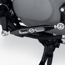 H-D Gear Shift Linkage - Bar & Shield, Black 33778-09