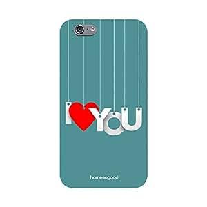 Valentine HomeSoGood Hanging Love Blue 3D Mobile Case For iPhone 6 (Back Cover)