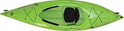 "90316 Emotion Glide Sit-Inside Kayak, Lime Green, 9'8"" from Lifetime OUTDOORS"