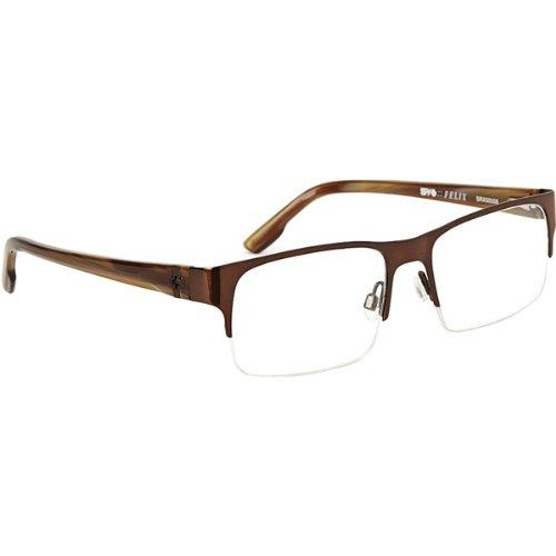 Spy Optic Felix Rx Eyeglasses - Spy Optic Adult Optical Prescription Frame - Chestnut / Size 52-17-140 front-917467
