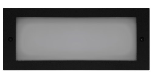 Royal Pacific 8934Bk Open Face Plate With Lens For 8906/8907 Step Lights, Cover Only, Black