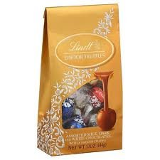 Lindt Lindor Truffle Bags (Assorted Chocolate - Mix of Milk, Dark & White Chocolate) - Pack of 5