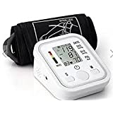 Electronic Digital Blood Pressure Pulse Monitor Portable Sphygmomanometer Meter Full Automatic