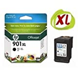 HP No.901XL Black Officejet Ink Cartridge (Yield 700 pages) (CC654AE#ABB)