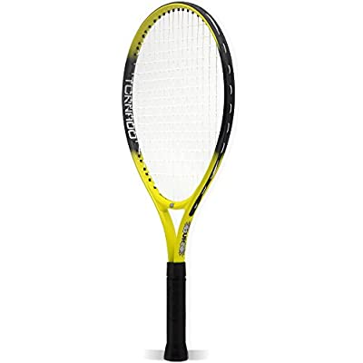 Burn 500013 Tennis Racket with Cover (Yellow)