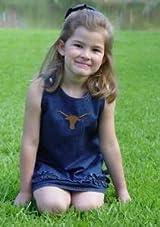 Texas Longhorn Sara Lynn Toggs Ruffle Jumper