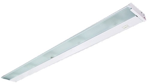 X32-120-Wh Lumentask 32In 4Lt 120V Xenon Undercabinet Fixture, White Finish And Frosted Prismatic Glass Lens