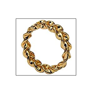 Gold Optical Illusion Ring
