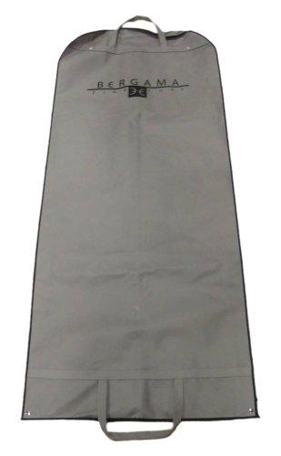 Bergama Grey and Black Fur Garment Storage Travel