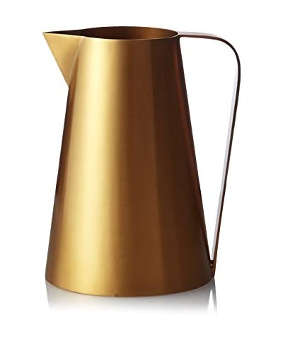 Calvin Klein Collection Iconic Tall Pitcher, Matte Gold