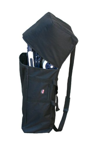 JL Childress Padded Umbrella Stroller Travel Bag, Black.