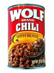 Wolf Chili With Beans 15 Oz - 12 Unit Pack by ConAgra