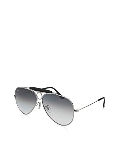 Ray Ban Women's RB3138-003-32 Sunglasses, Silver Tone