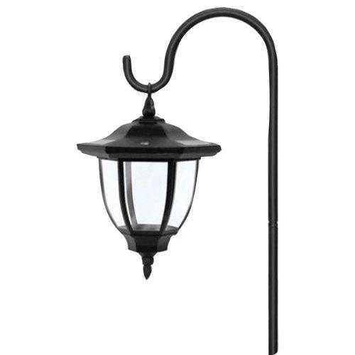 Brinkmann 822-2814-2 Led Solar Hanging Metal Coach Light (822-2814-2)