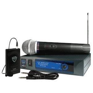 Nady Dkw-3 Channel R Wireless Microphone System. Nady Dkw-3 Wrls Guitar Kit Vhf Body Pack Ch R Promic.