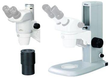 Smz-745T Trinocular Stereomicroscope W/ C10X Widefield Eyepiece And C-Ps Plain Mma36410-Kit1