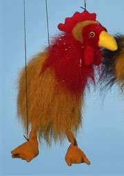 "16"" Rooster Marionette (Small)"