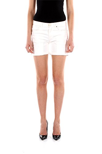 Shorts Pinko Donna Cotone Bianco 1N1148Y222WHITE Bianco 25