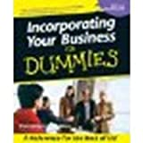 img - for Incorporating Your Business For Dummies by The Company Corporation [For Dummies, 2001] (Paperback) [Paperback] book / textbook / text book