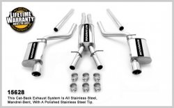 MagnaFlow 15628 Stainless Cat-Back Exhaust System