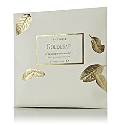 Thymes Perfumed Foaming Bath Envelopes 2.0 oz. Set of 6 - Goldleaf