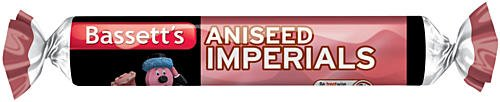 Bassetts Aniseed Imperials 10 x 43g (Aniseed Imperials compare prices)