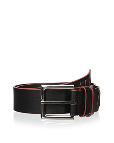 Dimensions by WCM Men's Diagonal Woven Detail Belt