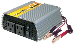 Power Bright PW200-12 Power Inverter 200 Watt 12 Volt DC To 110 Volt AC