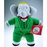 King Babar the Elephant, Plush Doll Toy 12