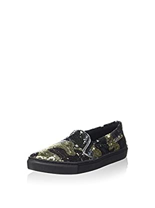 Guess Slip-On Greta (Negro / Verde)