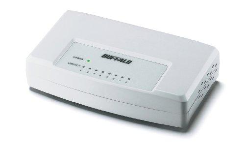 【Amazonの商品情報へ】BUFFALO 10/100M対応 スイッチングHub ホワイト LSW3-TX-8EP/WH