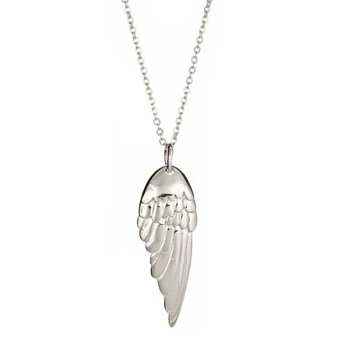 Melissa's Angel Wing Pendant in .925 Silver 18