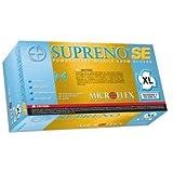 Microflex SU690L SUPRENO SE Large Powder-Free Polymer-Coated Nitrile Gloves