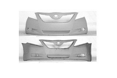 Auto Body Repair Compatible with 2010-2011 Toyota Camry with Front Bumper Cover and Grille Assembly SE Models USA Built Set of 2