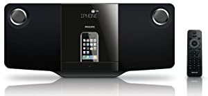 Philips DCM278/37 Micro Hi-Fi System Dock with CD for iPod/iPhone
