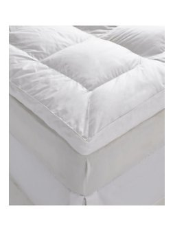 Soft Duck Feather and Down Bed Thick Mattress Topper Kingsize