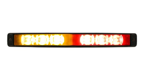 Red/Amber Ulb9S Star Burst Mini-Phantom Undercover Led Lightbar