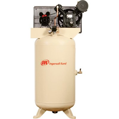 - Ingersoll Rand Type-30 Reciprocating Air Compressor - 5 Hp, 80 Gallon, 230 Volt 3 Phase, Model# 2340N5-V