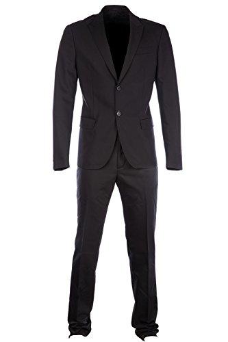 dirk-bikkembergs-traje-de-hombre-nuevo-negro-eu-56-uk-46-c2dbk116306a999