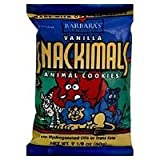 Barbara's Bakery Snackimals Animal Cookies Vanilla -- 7.5 oz