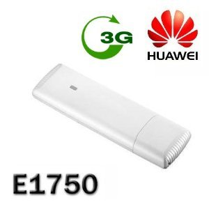 Brand New Unlocked Wireless Huawei WCDMA E1750 HSUPA 3G Modem Dongle With Micro SD Card Slot, USB 2.0 (Compatible with all Major UK Mobile Networks)