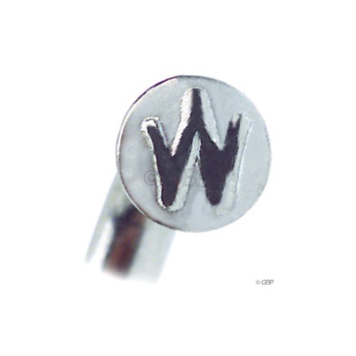 Wheelsmith 2.0 x 306mm Silver Spokes, Stainless Steel. Bag of 50.