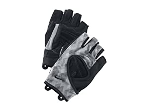 Nike Women's Cardio Fitness Gloves, Black/Gray, Small