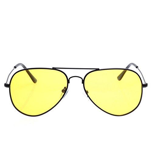 AORON New Arrivals Mens Night Drive Anti-Glare Sunglasses Eyewear(C1